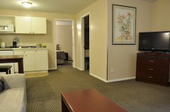 Suite with Bedroom and Kitchenette