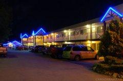 Rosedale Motel Evening